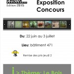 Affiche expo concours 2015